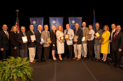 UConn faculty honored at Innovation event