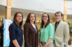 Four UConn students selected for fellowship