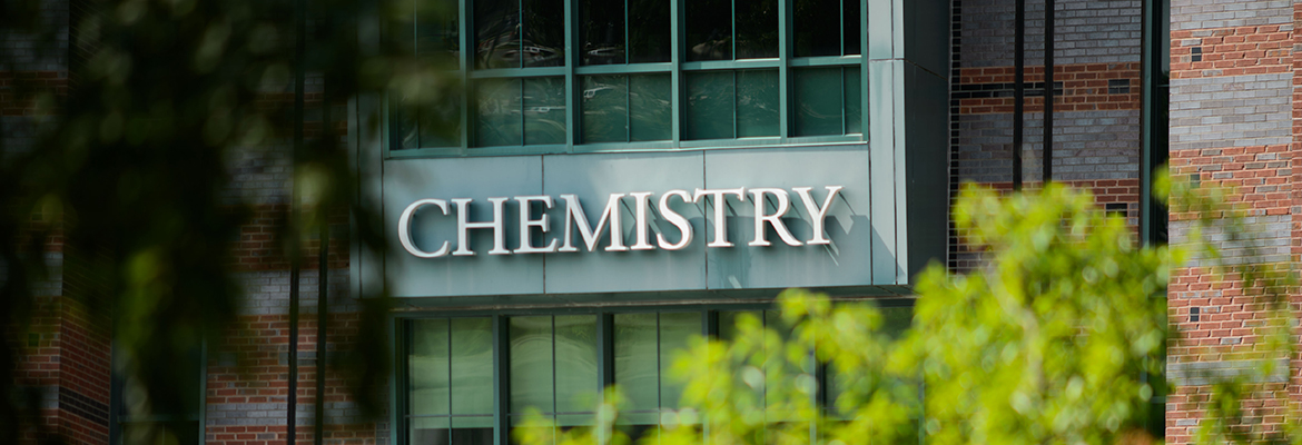 Chemistry Building Sign