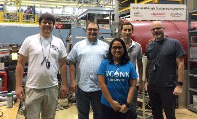 UConn chemists at NIST