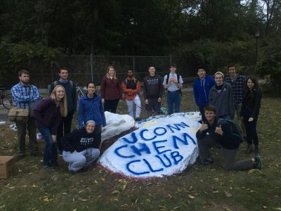 Chem Club paints the rock
