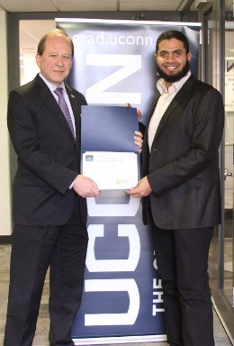 Islam Mosa wins 3MT competition