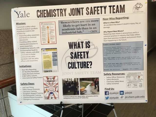 Yale Safety Poster