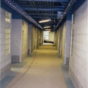hallway construction