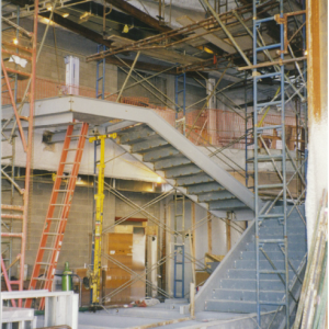 atrium stairs construction