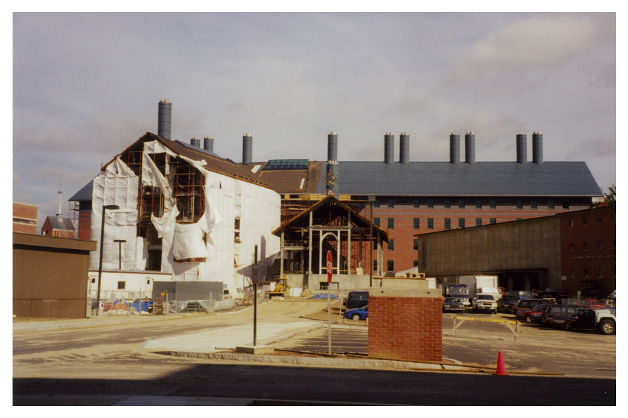 construction of the chemistry building