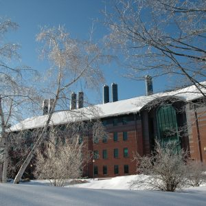 snowy Chemistry Building