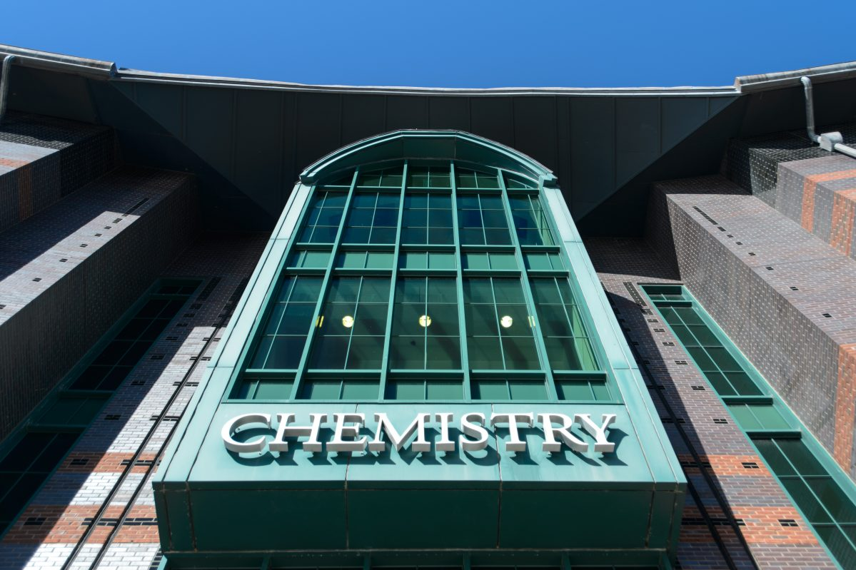 Chemistry Building front entrance