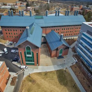 Chemistry Building aerial photo